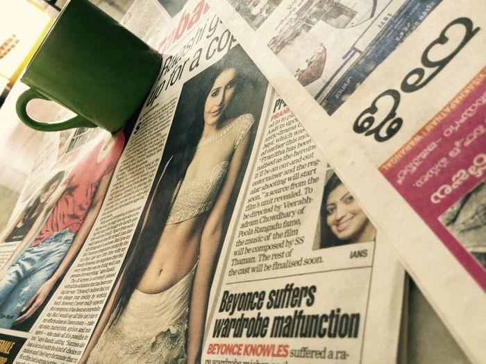 InSideHouse News Paper HotChick HyderabadTimes FindingTalent Morning Teatime Gossips EyeEm Best Shots