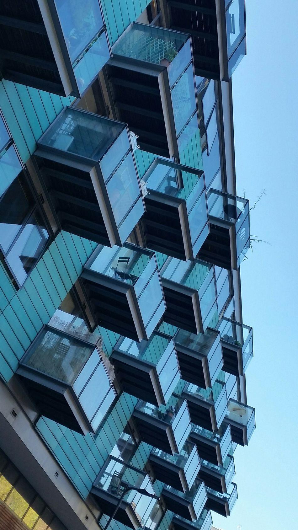 Architecture Building Exterior London Lifestyle Hoxton Blue