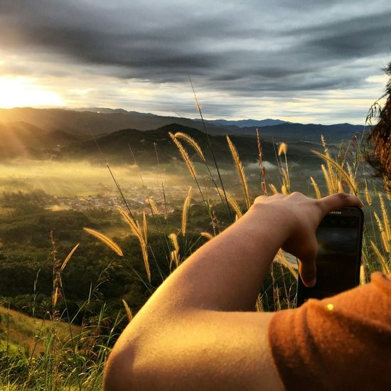 Broga hill Sunrise Broga Brogahill First Eyeem Photo Nature Malaysia Scenery