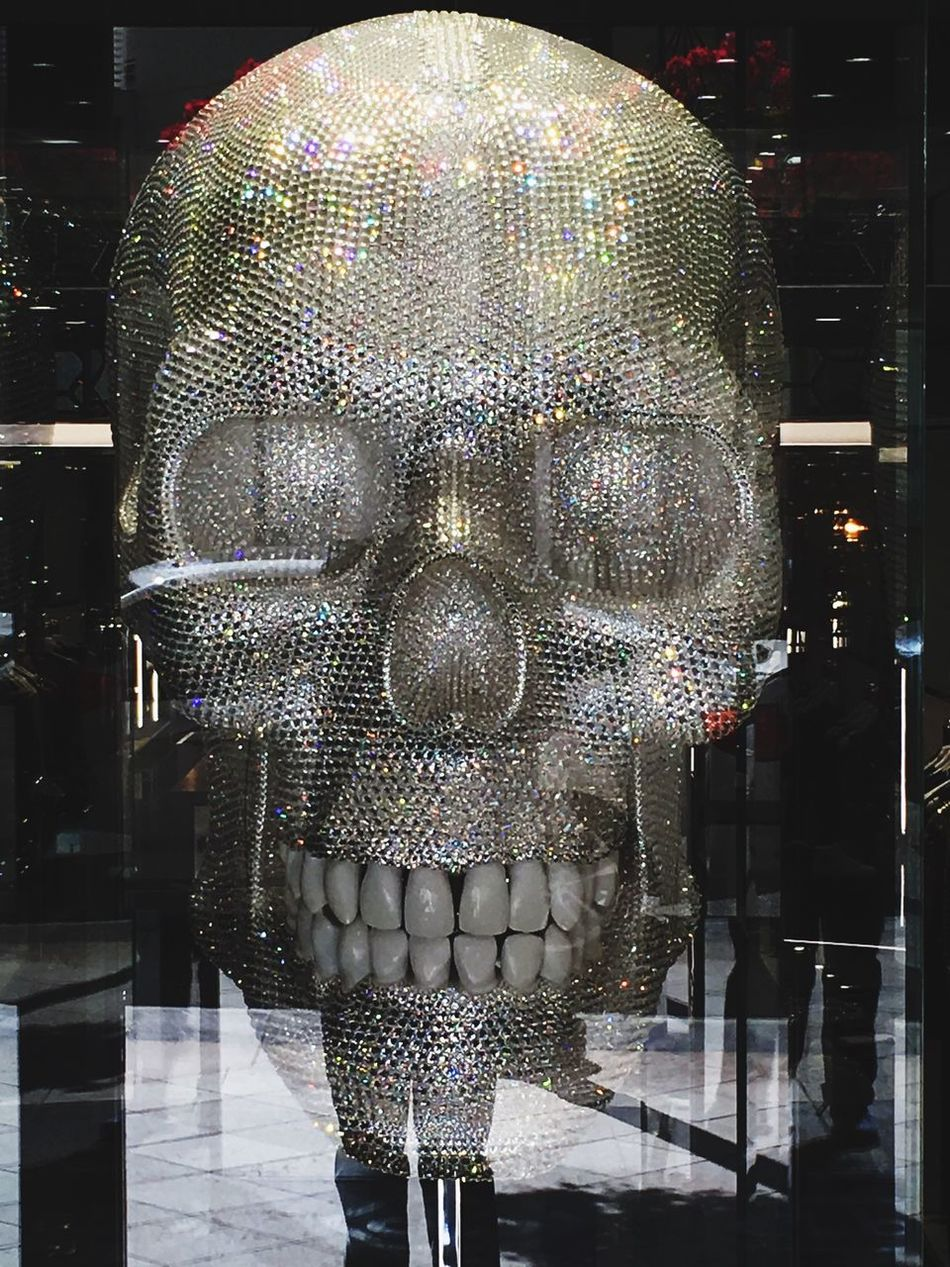 Indoors  Diamonds No People Close-up Day Skull