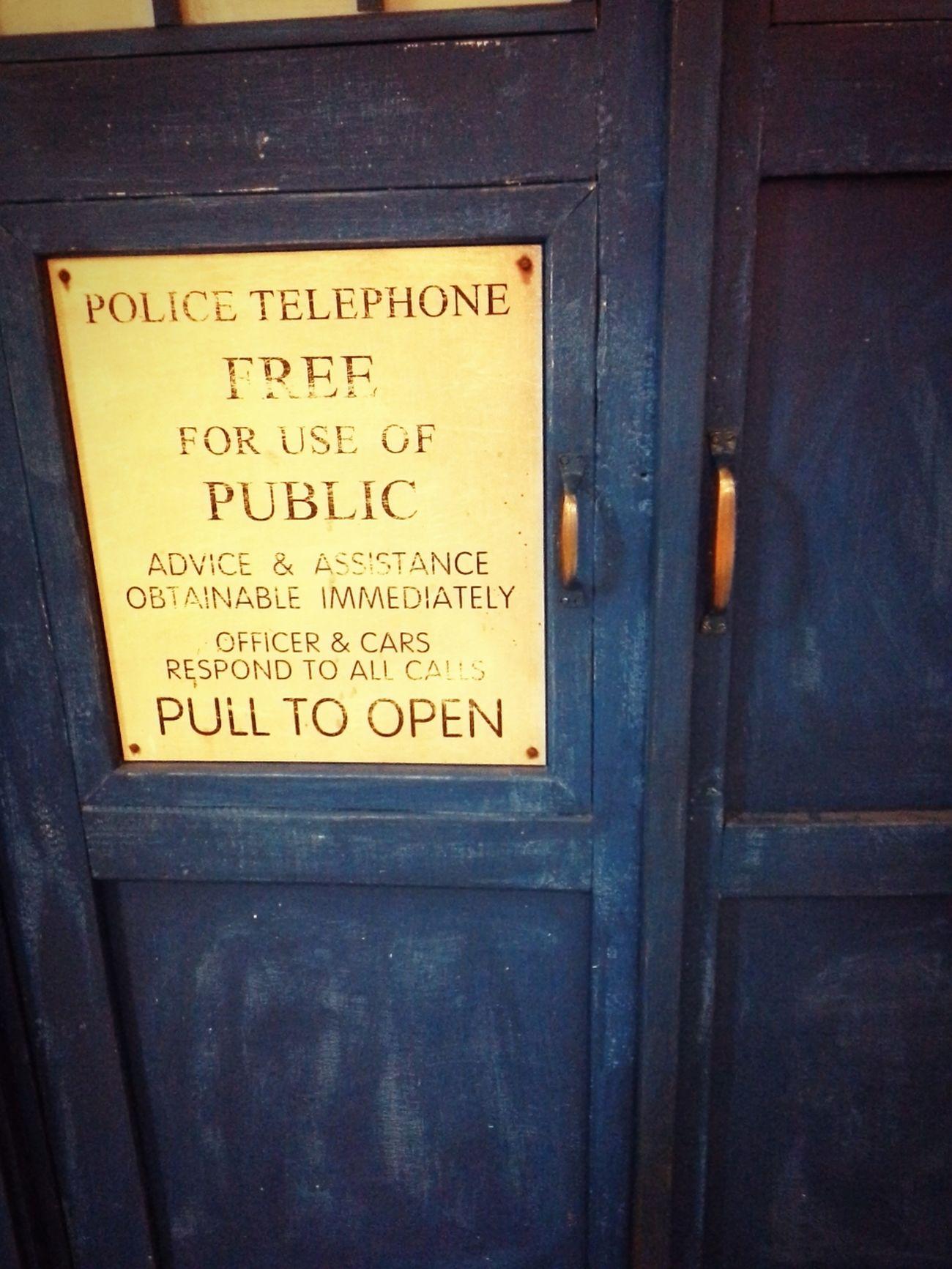 so... we have something old, something new... something borrowed, something blue...:) Tornhemstudio Doctorwho Tardis Doctor Who
