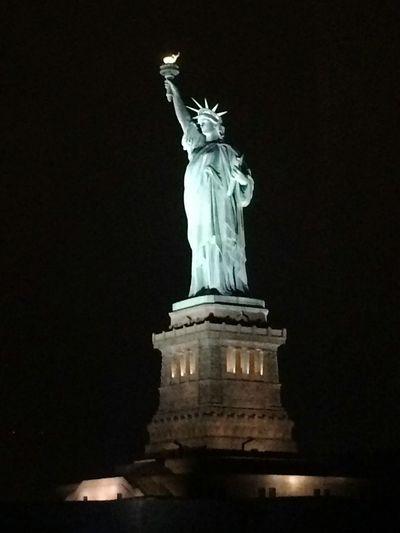 Lady Liberty NYC Symboloffreedom Christmasnyc2015