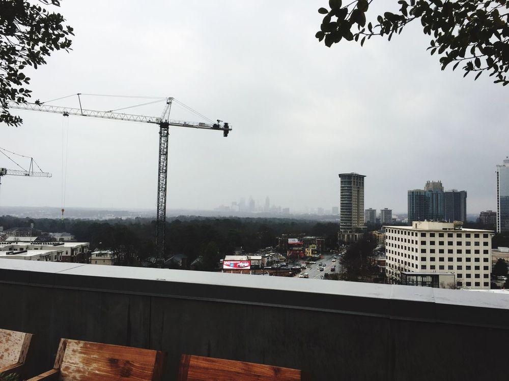 The City Light Sky Built Structure Architecture Building Exterior City Tree Cityscape Rain Atlanta Buckhead