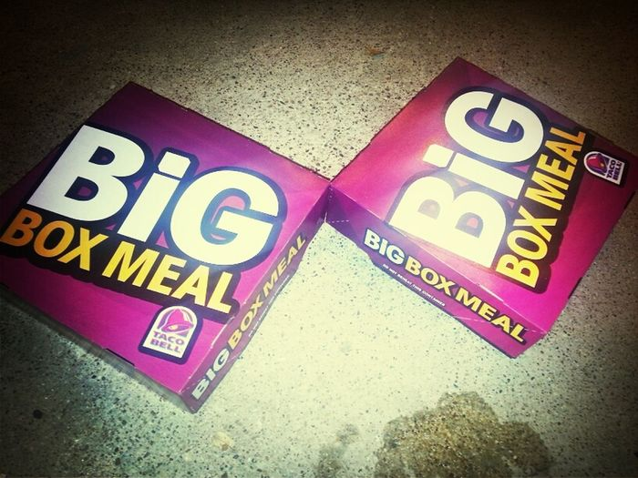 go BIG or go home! :]