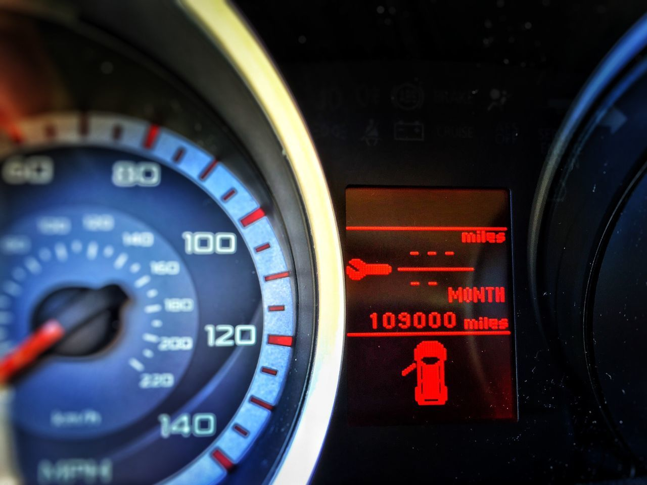 Number Speedometer Dashboard Meter - Instrument Of Measurement Gauge Transportation Car Land Vehicle Close-up Vehicle Interior Mode Of Transport Car Interior No People Speed Illuminated Technology Steering Wheel Control Panel