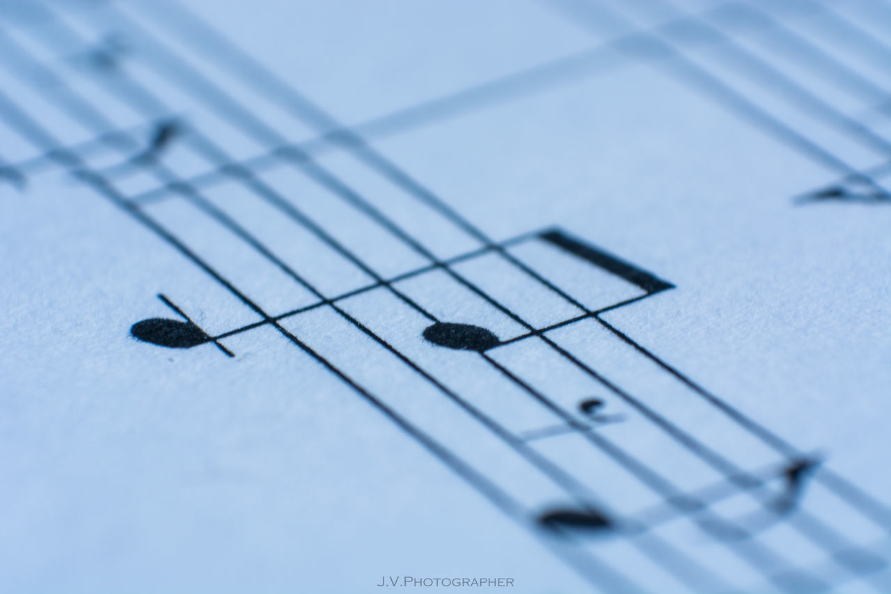 Arts Culture And Entertainment Classical Music Close-up Day Education Indoors  Learning Macro Macro Beauty Macro Photography Macro_collection Music Music Musical Instrument Musical Note No People Paper Piano Printing Prints Selective Focus Sheet Music Violin