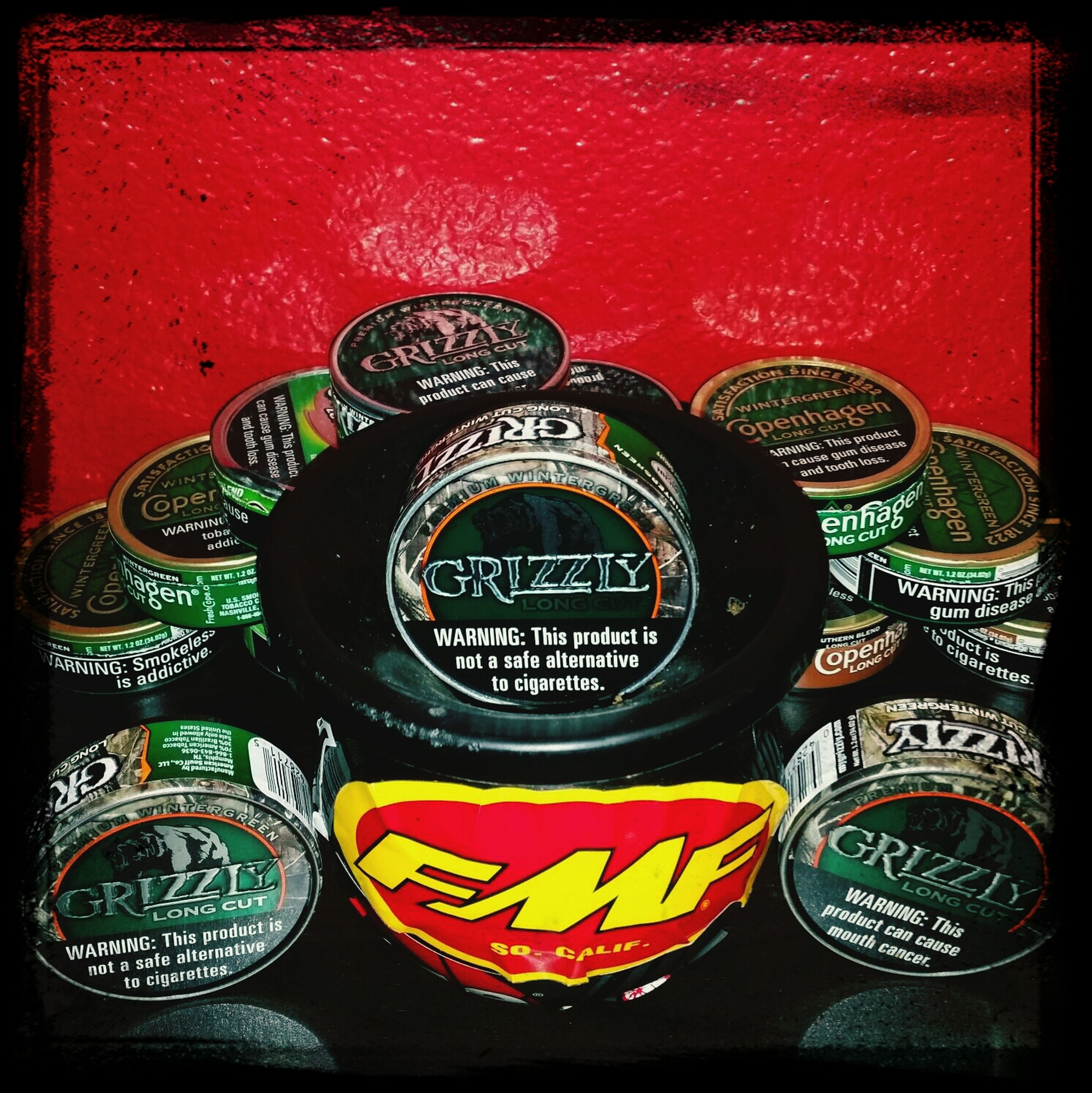 That new grizzly can tho Mudjug Grizzly