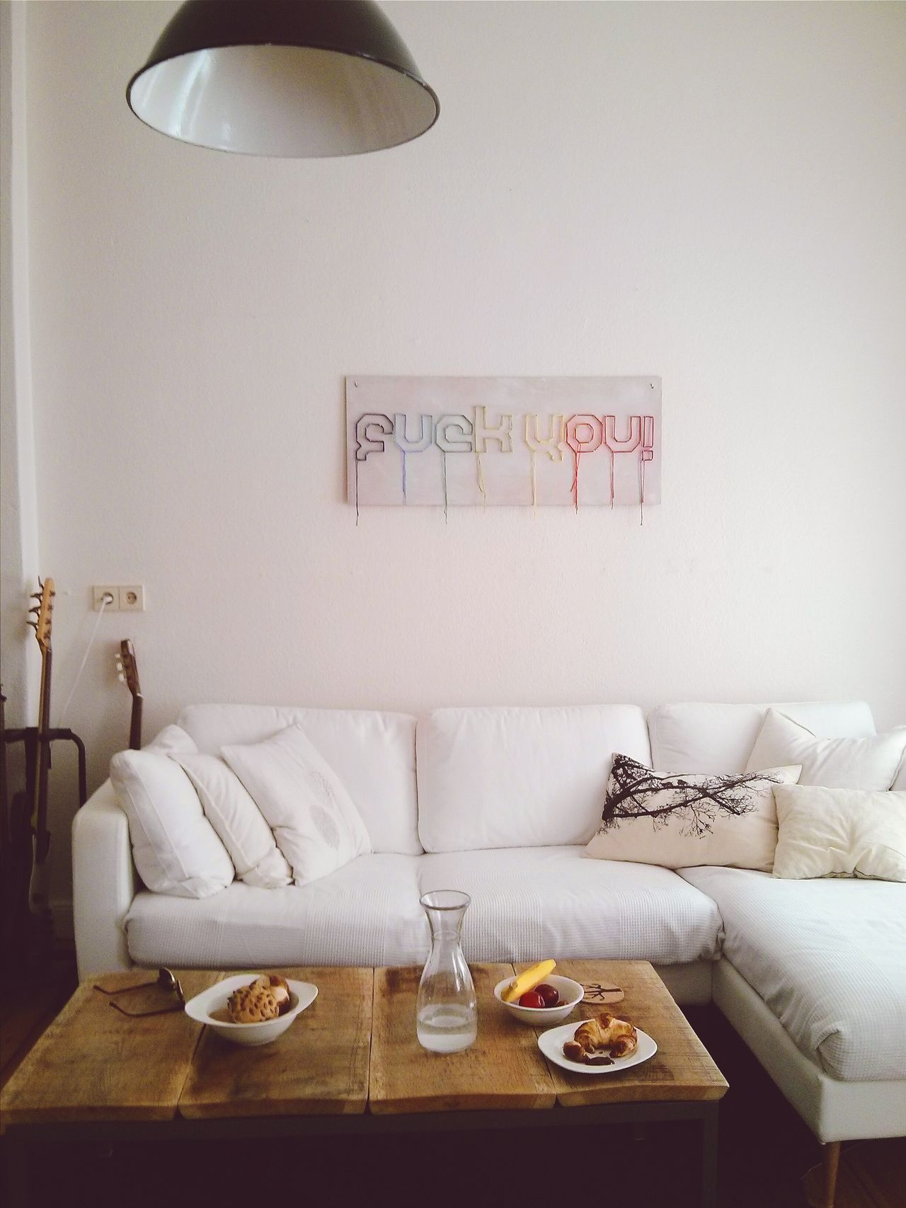 Fuck you Couch Lifestyle Living Room