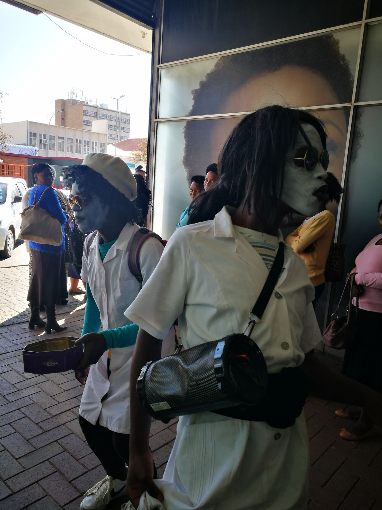 The Street Photographer - 2017 EyeEm Awards The Streets Of South Africa People Outdoors Working Day Street Art Streets Like Like4like Photography Hustle Bawling Music Mime Every smile could be a bread...