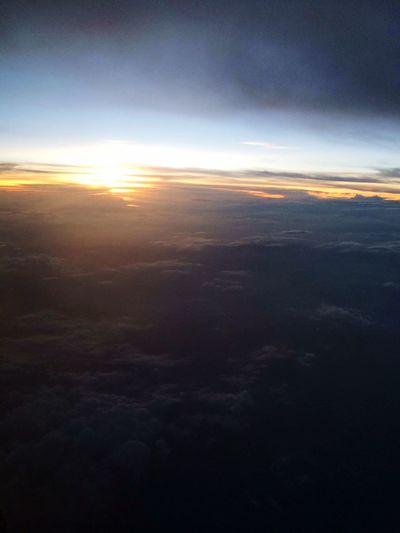 It's Going down|PlaneRide|fourth| Nature Photog ArtsyMartsy Check Bettertogether Plane Sundown Sunset