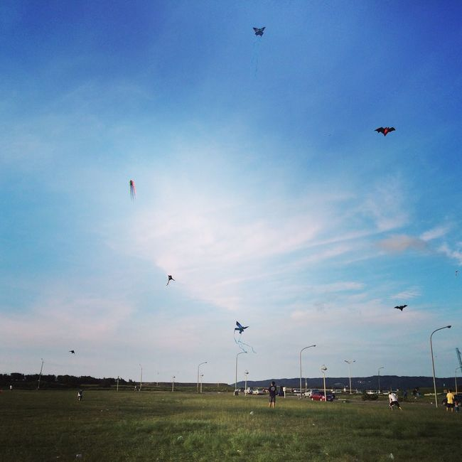 good day in Hsinchu Weekend Fun Hsinchu, Taiwan Flying A Kite Good Times Good Weather Good Weather:)