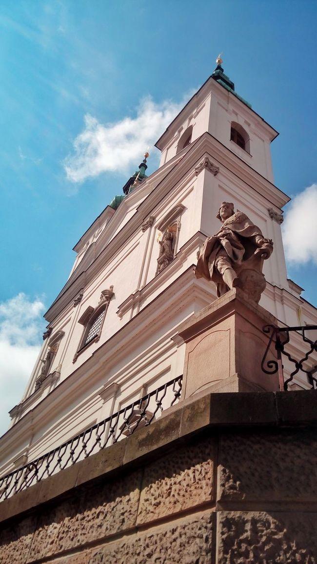 Church Baroque Old Good Weather Sunlight Sky Skyline Perspective Architecture Geometric Wonderful Eyeem Architecture Holy Sacral Brno Czech Republic