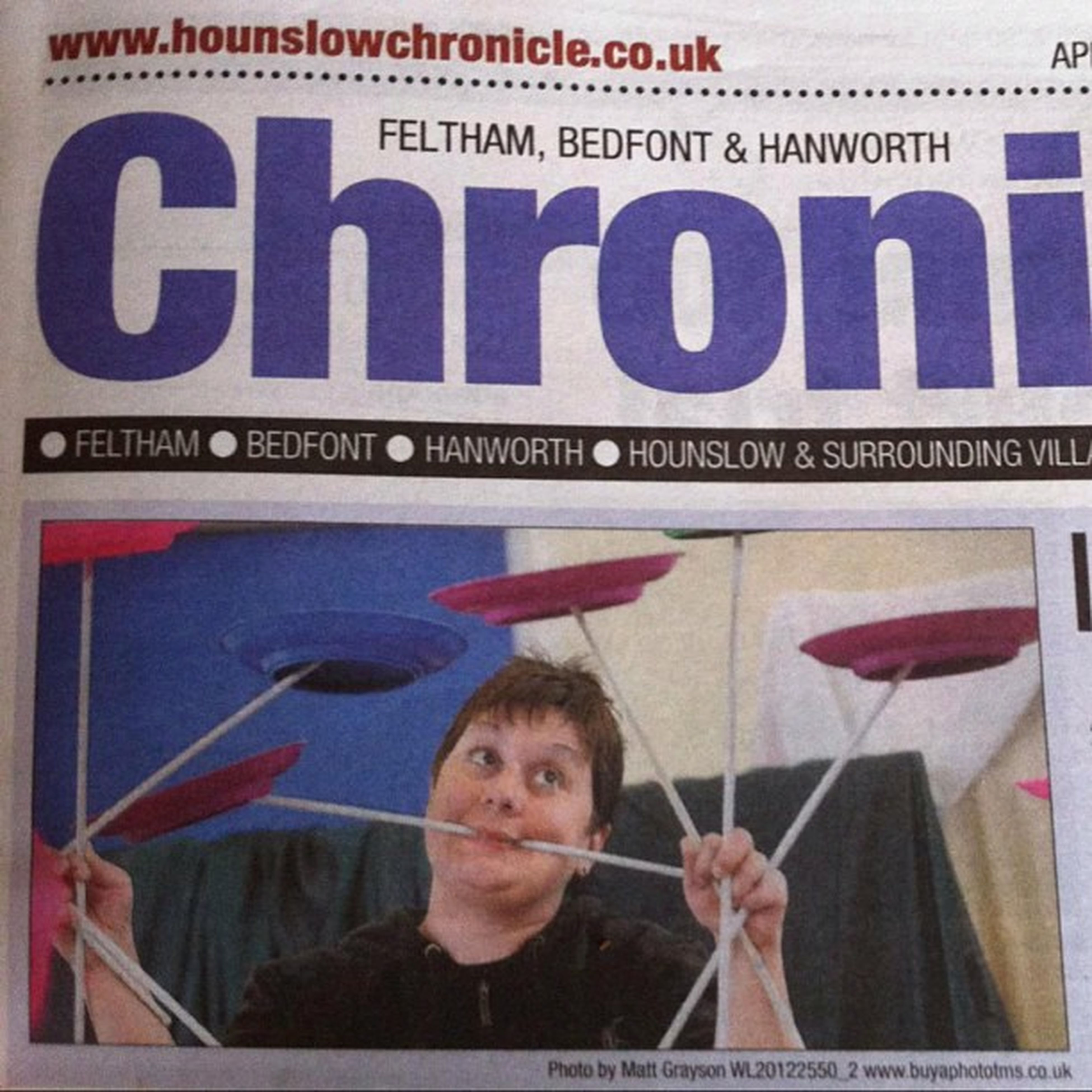 Plate_spinning Circus_skills Poi_passion Me Newspaper Fun