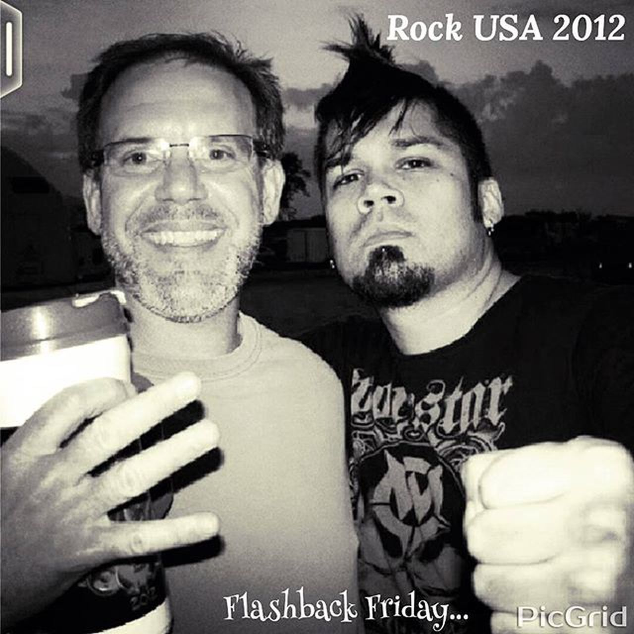 Flashbackfriday Rockusa 2012....with @Jasenmoreno lead singer of the band Drowningpool ...This is how the big dawggs run!!!?! ...12 more days till the insane rocknroll kicks offs again...4 days Vip...5th row from stage....not badd.... Whiskeymakesmefriskey Offthehook Maybushouldstayontheporch Everybodywantssome Jasenmoreno