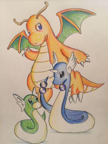 Pokémon ポケモン Illustration MyDrawing Drawing Painting