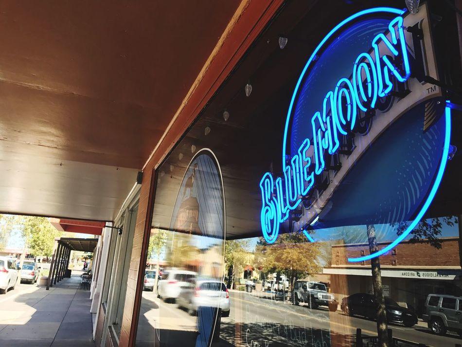Blue moon Neon Lights Neon Sign