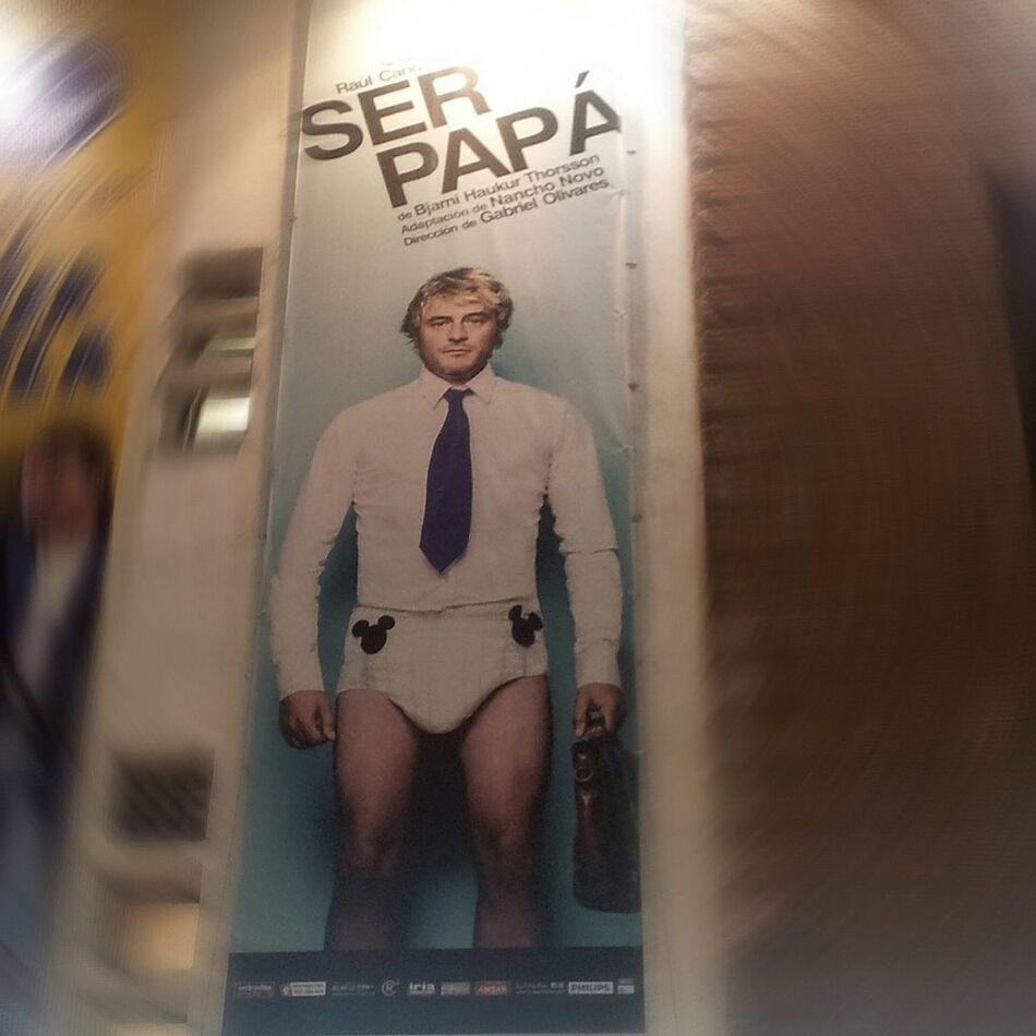 Raul Cano Cano Ser Papa Teatro Figaro Madrid