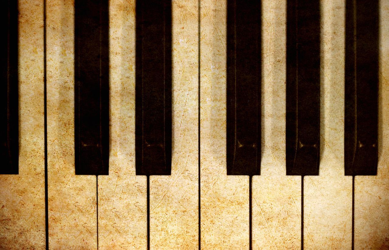 Chords Music Backgrounds Close-up Day Full Frame Grunge Indoors  Music Musical Instrument No People Old Piano Piano Key Piano Keys Play Retro Styled Style Top View Vintage