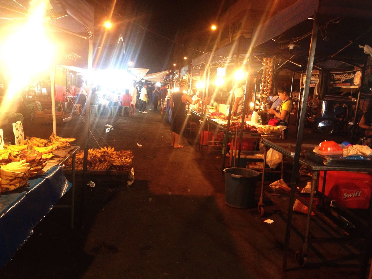 night, market, market stall, restaurant, illuminated, retail, food, food and drink, real people, large group of people, outdoors, men, freshness, city, people