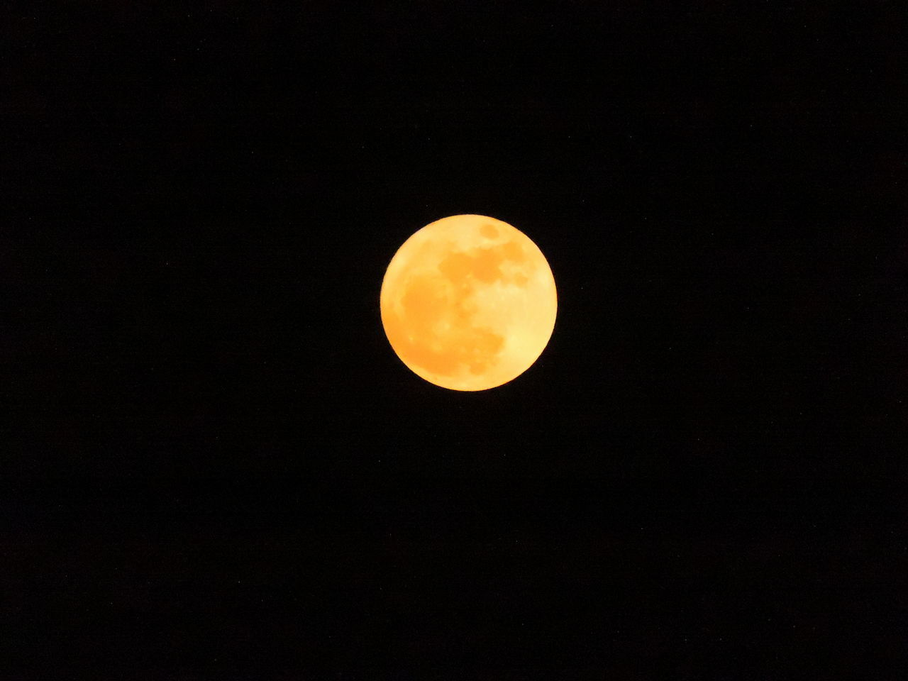 Full Super Moon 2016 Astronomy Beauty In Nature Black Background Full Moon Low Angle View Moon Moon Surface Nature Night No People Outdoors Scenics Sky Space Stars Supermoon2016 Yellowmoon