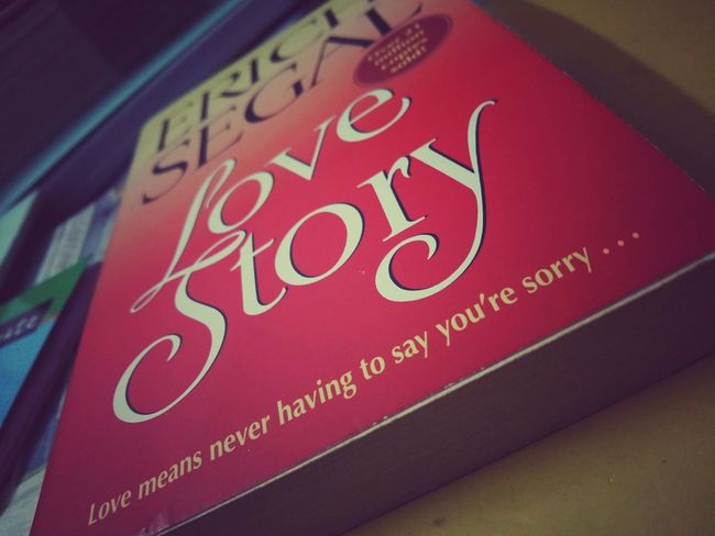 Love Story Erich Segal ...one of the best love stories ever....read it a million times and it still brings tears to my eyes Love♡ Best Book Ever