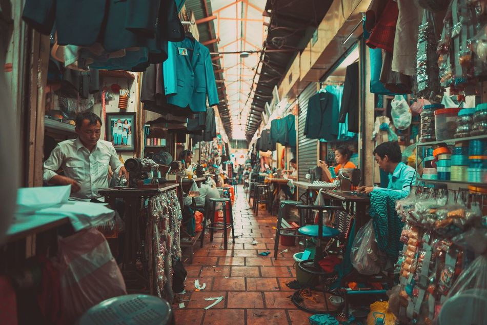 What we wear and those who are worn Travel Photography ASIA Showcase: April Cambodia Day Work Labor Real People Real Life