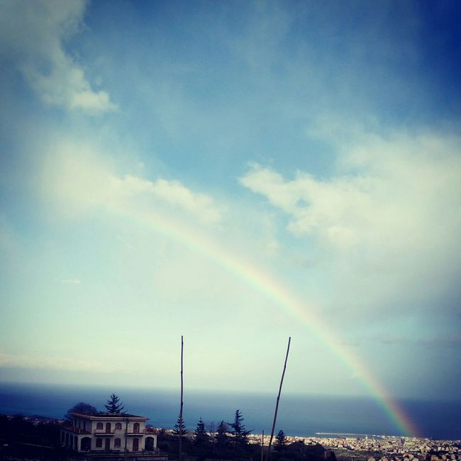 Sicily, Sicilian View, Rainbow, Nature , Enjoying The View , Natural,