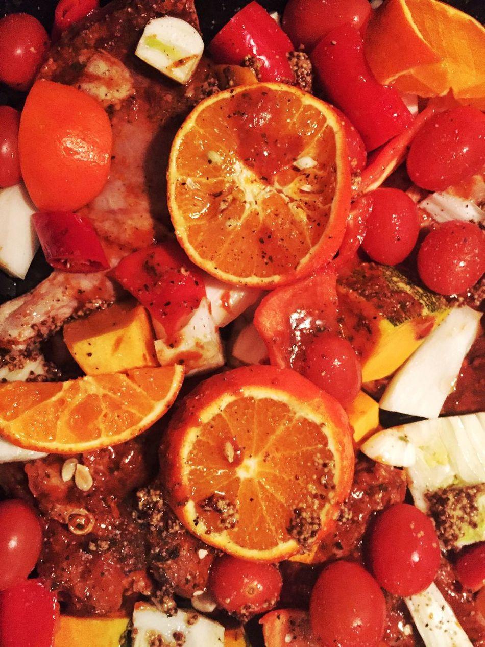 Food Fresh Produce Tangerine Cooking Homemade Food Orange Dinner