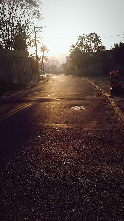 Street No People Asphalt City Day Sky Road