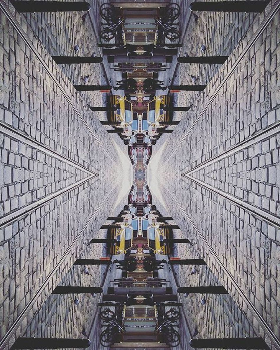 D3lta D3ltagraphy Abstract City Street Prague Praha Rail
