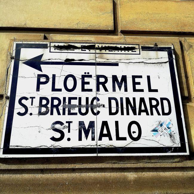 Information Sign Guidance Bretagnetourisme Bretagne France Bretagne Lovers