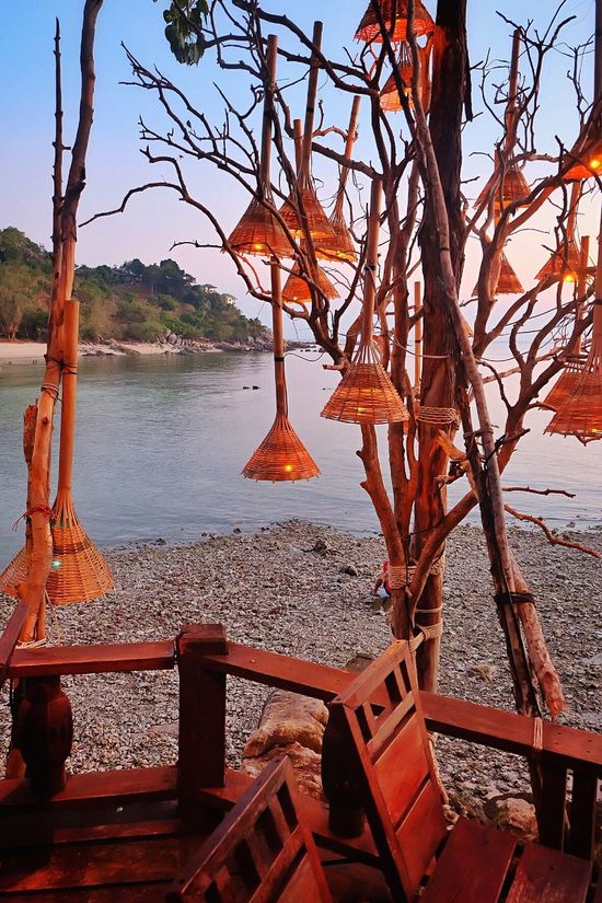 Nice place for dinner ,make feels romantic Romantic KohPhangan Thailand Thesea