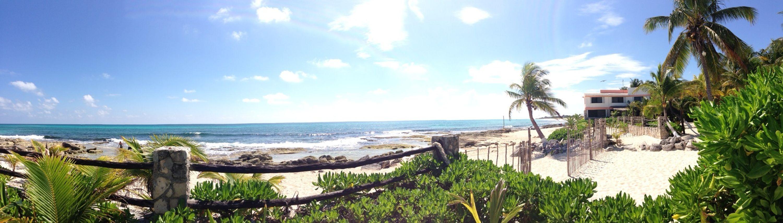 Enjoying Life On The Beach Relaxing Riviera Maya