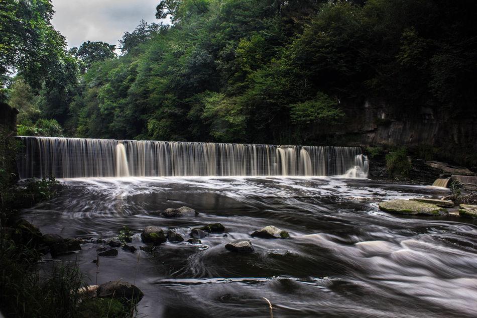 Cramond Waterfall, Edinburgh Canonphotography Cramond Edinburgh EyeEmNewHere Flowing Water Long Exposure Motion No People Outdoors Pauldroberts Tree Trees Water Waterfall
