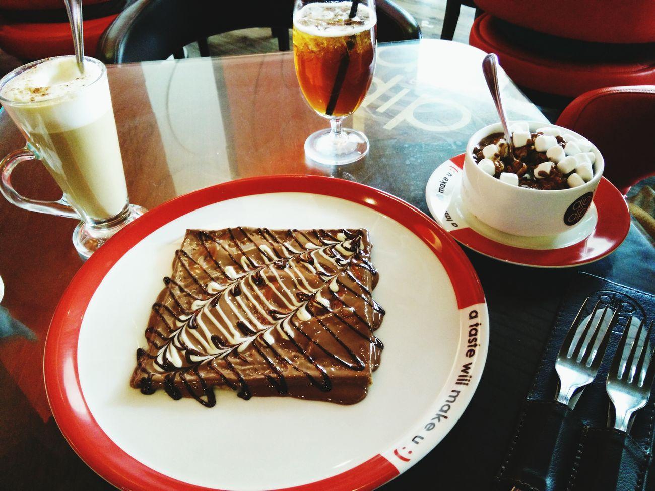 Lunch. gain calorie. urgh.😂 Sundate Alhamdulillah