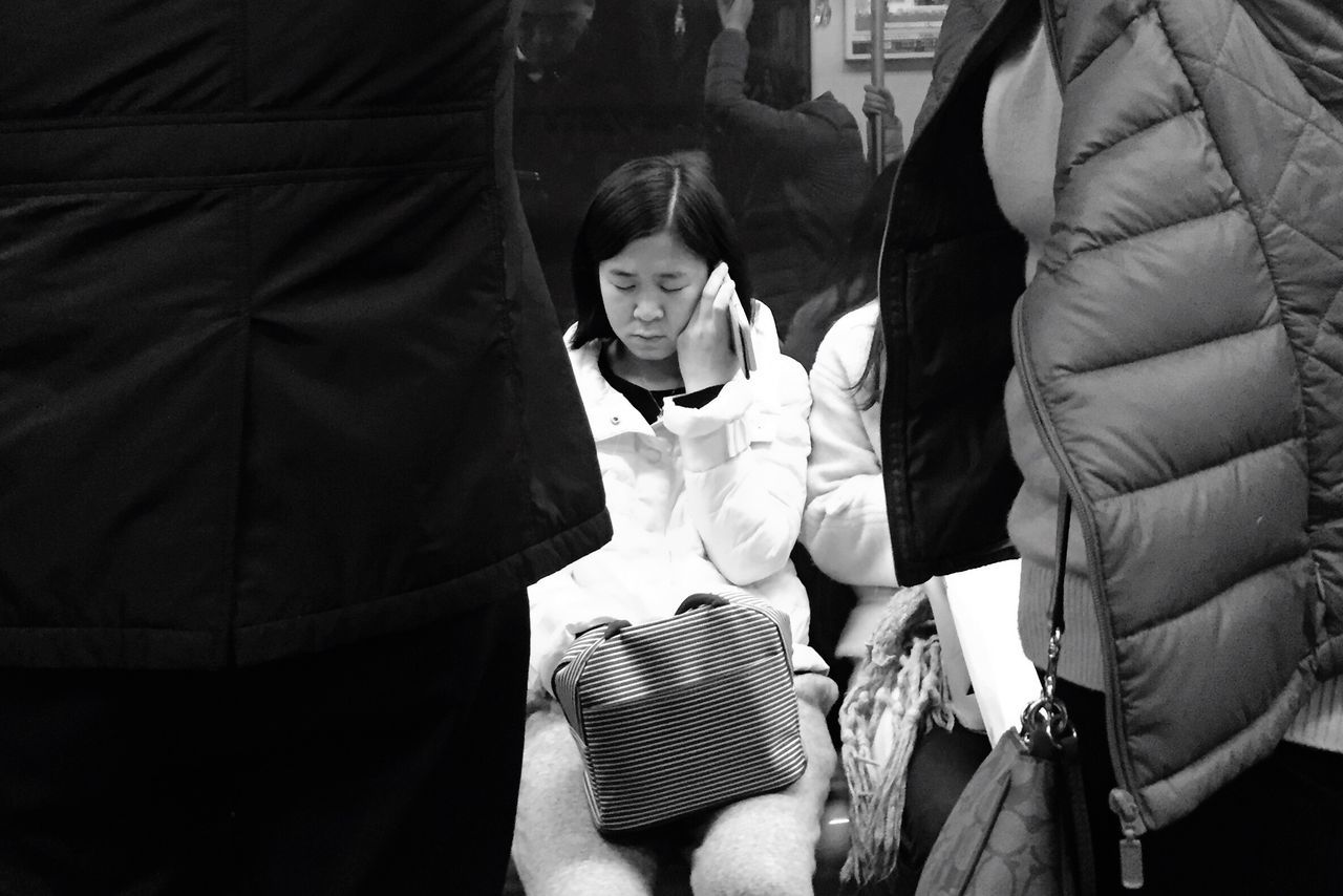 Two People Real People Uniform Men Outdoors Day Togetherness Adult People Photography Subway Blackandwhite BEIJING北京CHINA中国BEAUTY NANJING南京CHINA中国BEAUTY Women Group Of People