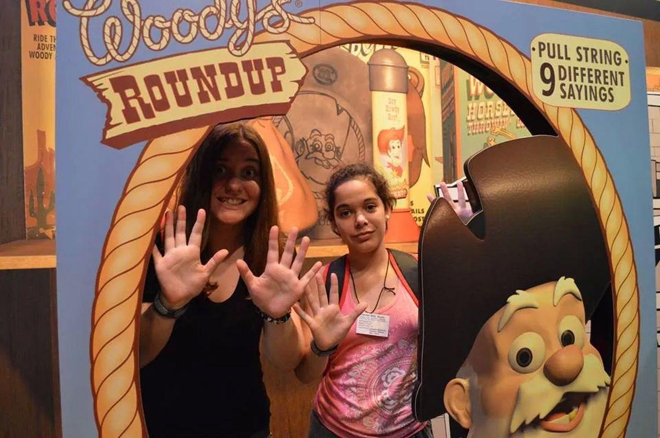 Heeelp! Haha Pixar  Toy Story Disney Hollywood Studios That's Me