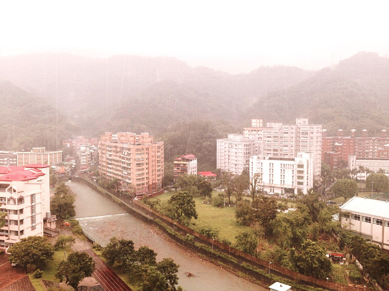 Endess rain… In My House Rainny Day Xindian New Taipei City Taiwan