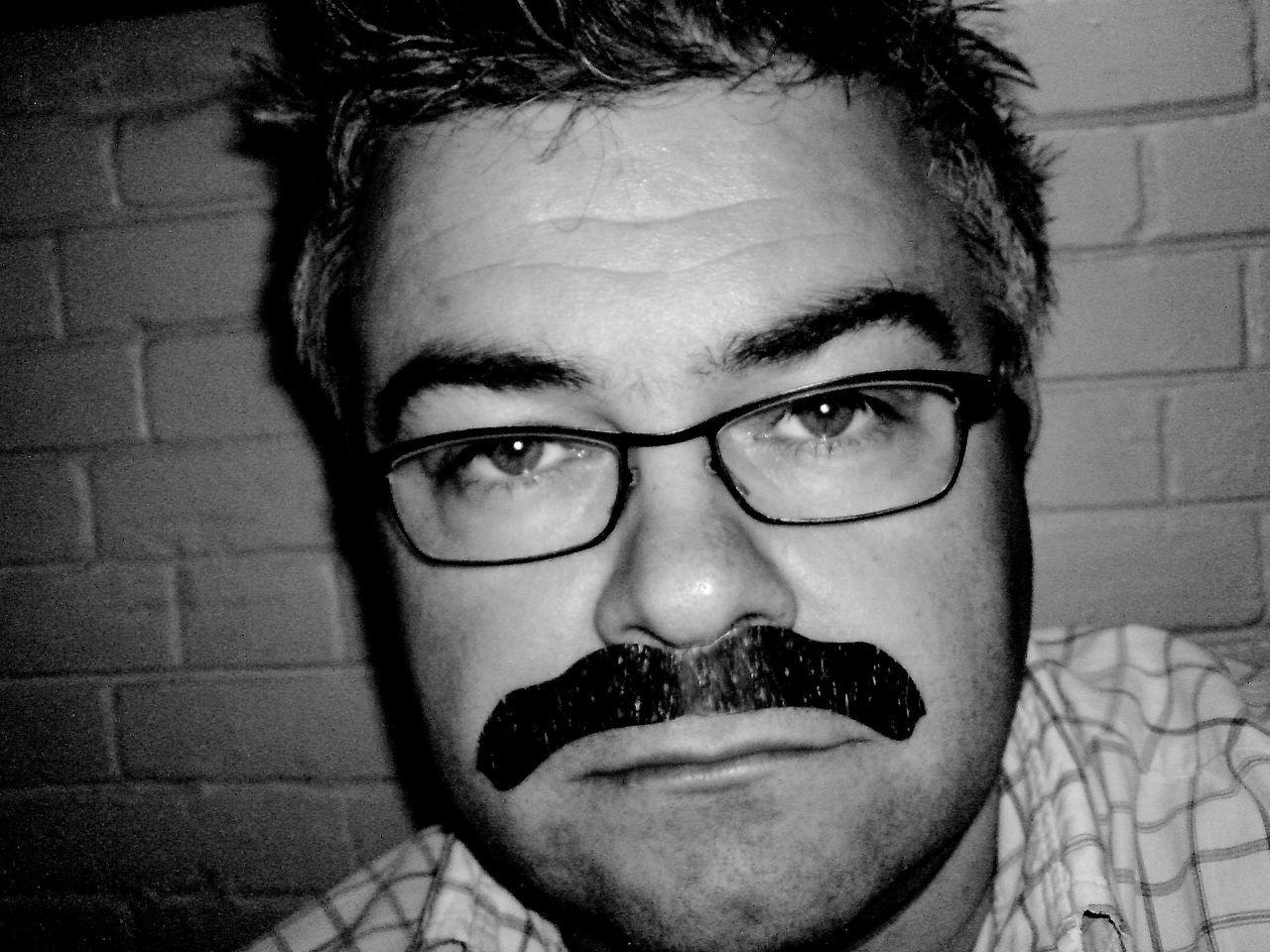 Fake Moustache Party Self Portrait Experiments