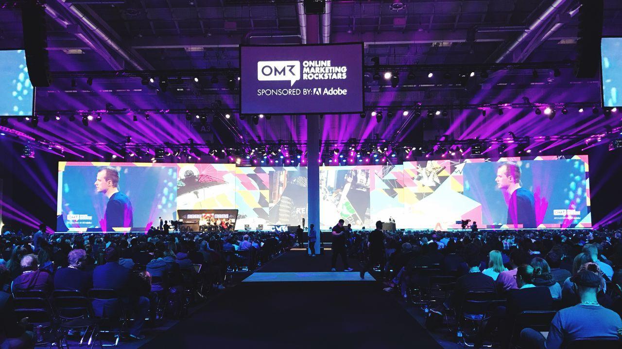 OnlineMarketingRockstars OMR Conference Marketing Speaker Messehamburg