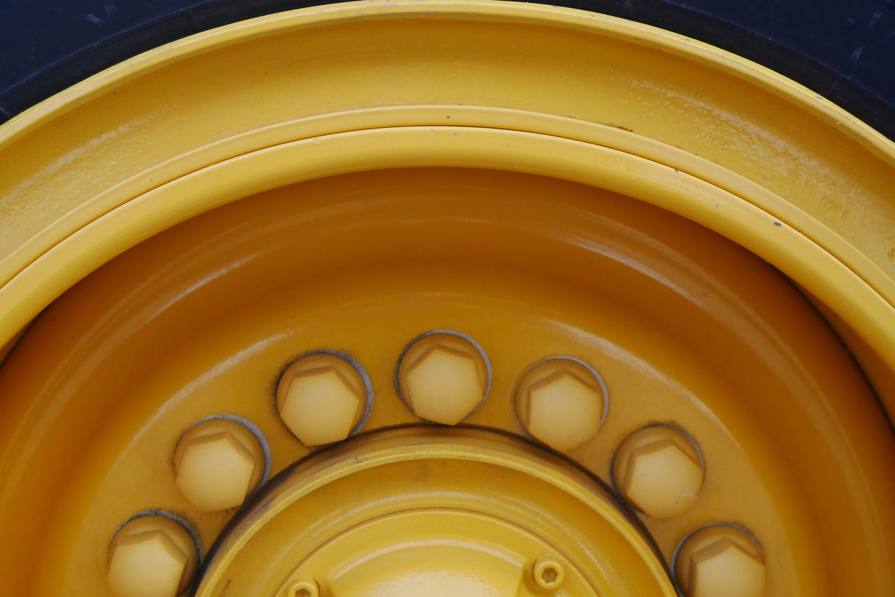 yellow, indoors, no people, gold colored, close-up, low angle view, architecture, day