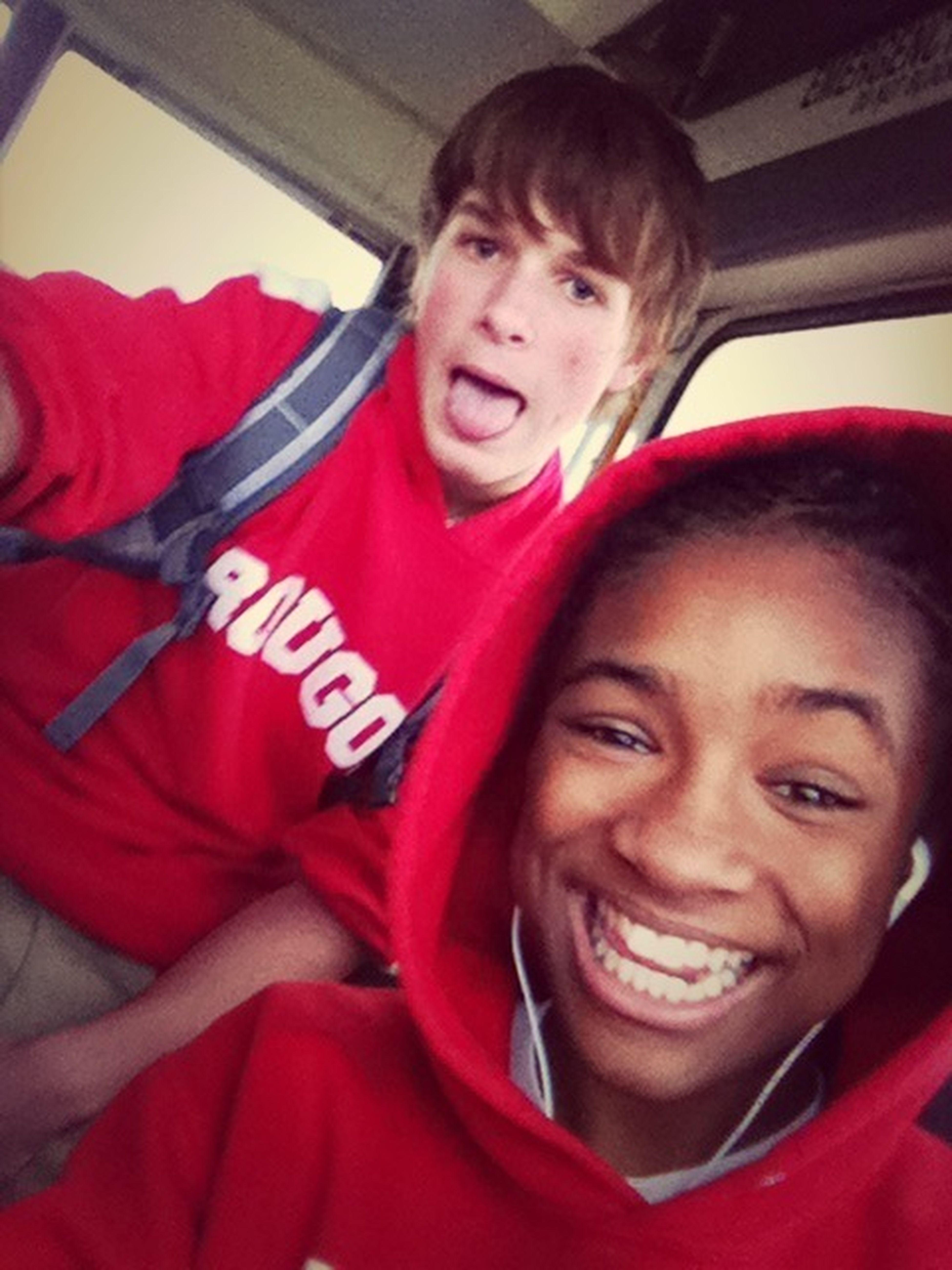 .me & Dhis Crazy White Boy !