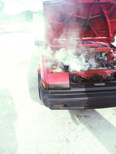 Need For Speed Toyota Toyota Corolla Ae86 Overheated Smoked Car Japanese Car Corolla
