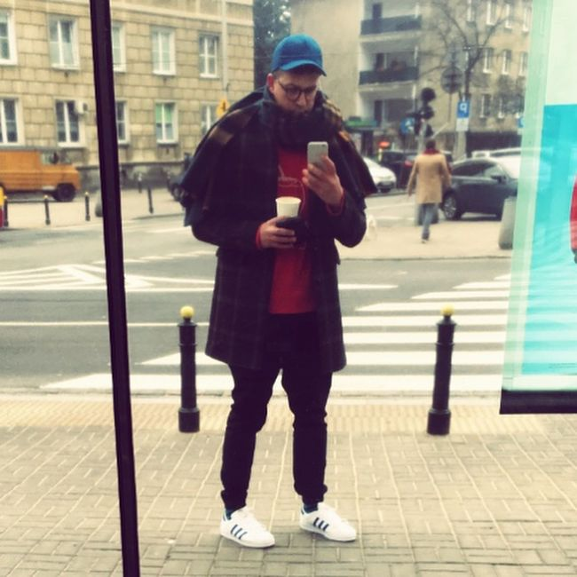 Warsaw Streetphotography Streewear Coffee Time Walking Around