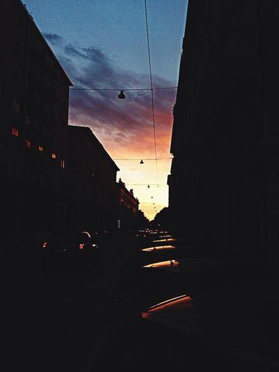 Sunset Friends City