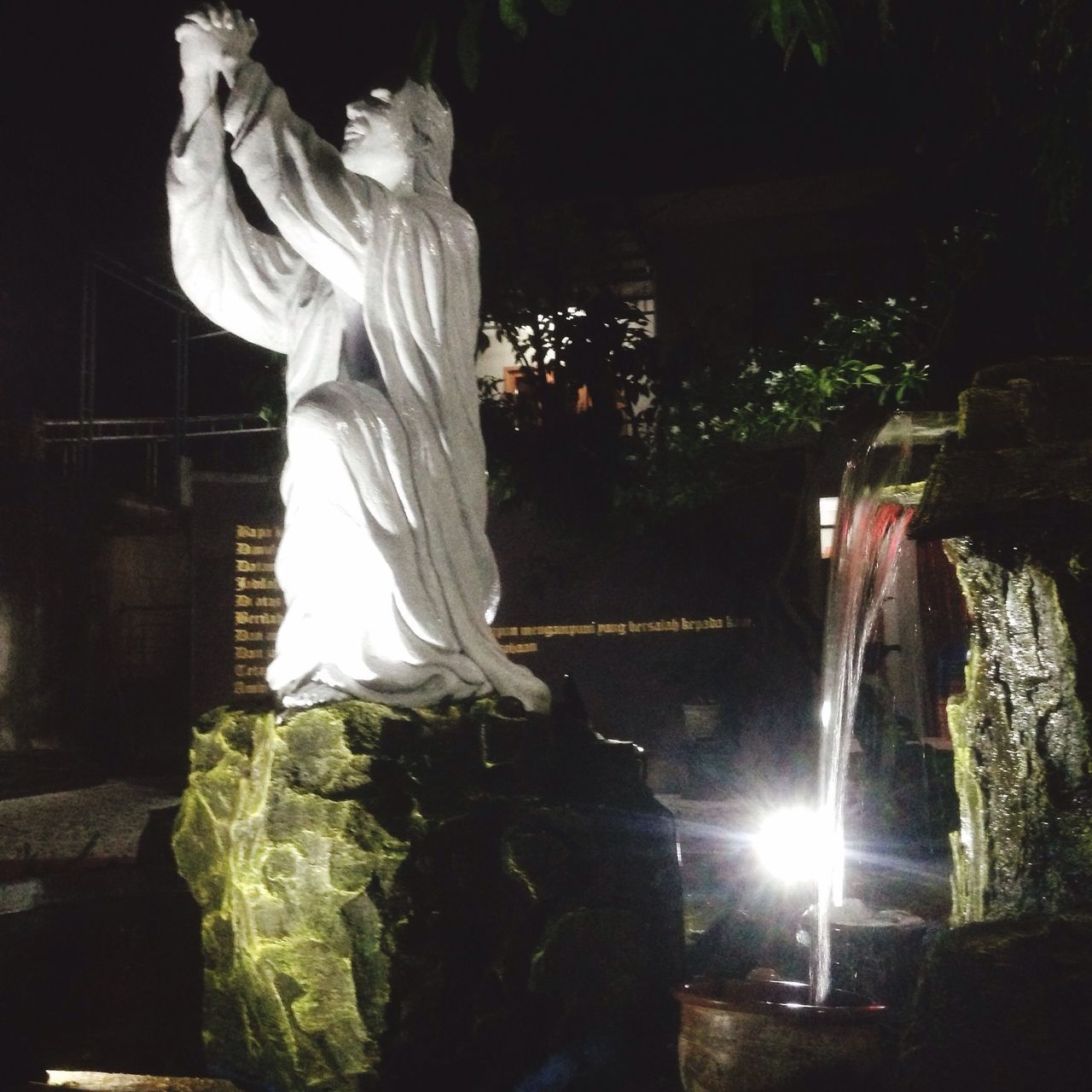 Jesus Jesus Christ Praying Statue Solo Jawatengah Pray IPhone IPhoneography INDONESIA