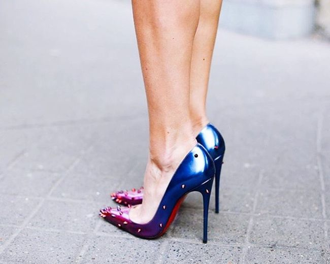 Shoes Addic Red&blue Louboutin