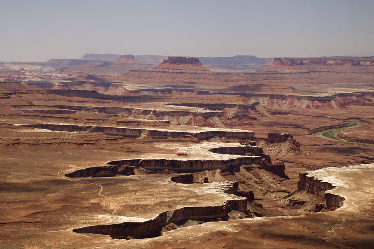 Canyonlands Landscape Arid Climate Canyon Canyonlands National Park, Utah Crack Crevice Desert Geology Landscape Mountain Mountain Range Rift Rims Rock - Object Scenics Splits Tranquil Scene Travel Wrinkles Lost In The Landscape