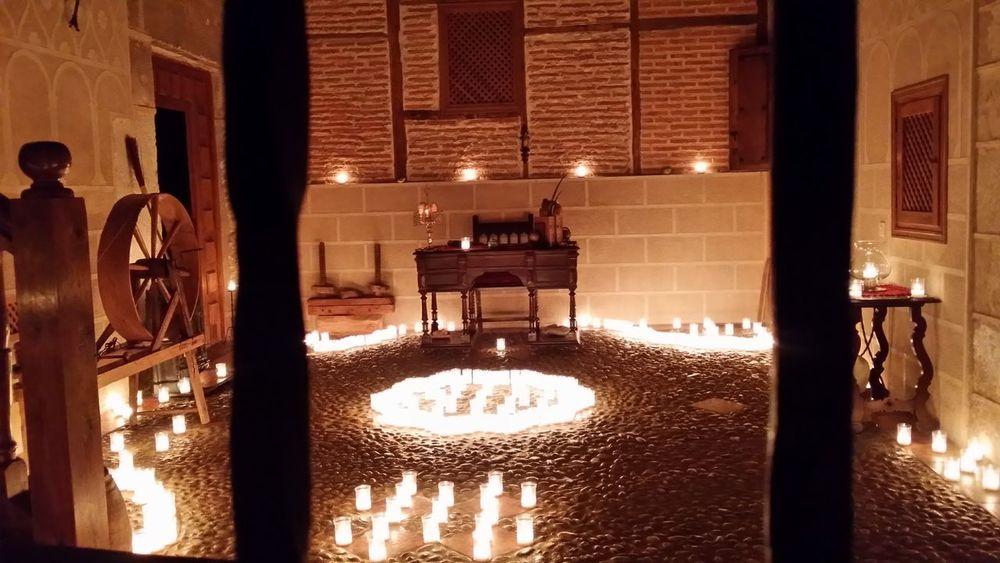 Great Performance Fantastic Exhibition Taking Photos Noche De Las Velas En Pedraza