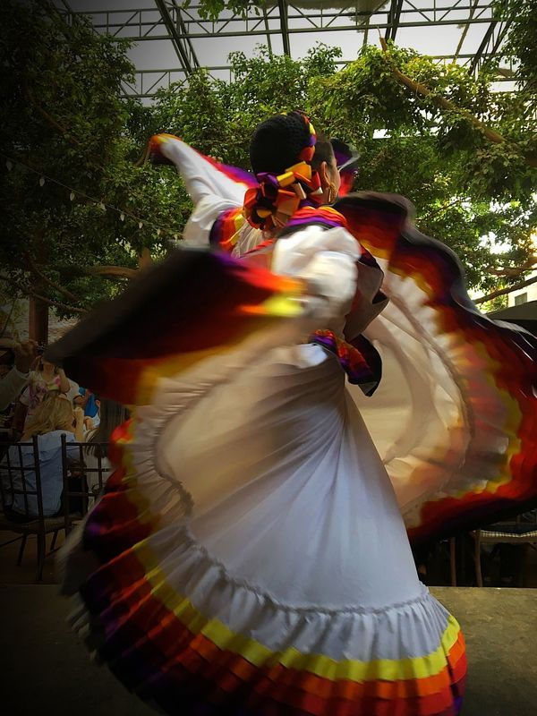 Traditional Costume Traditional Clothing Cultures Performance Outdoors Dancing Tradition Celebration Real People Skill  Day Tree Adults Only People Adult EyeEm Gallery EyeEm Best Shots Eye4photography  MexicanTradition Traditional Clothing Traditional Culture Dancer Woman Mexico Dancing Art Is Everywhere